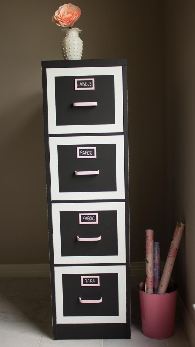 Diy File Cabinet Makeover Allfreeholidaycrafts Com