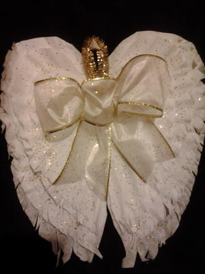 Coffee Filter Angel Wings