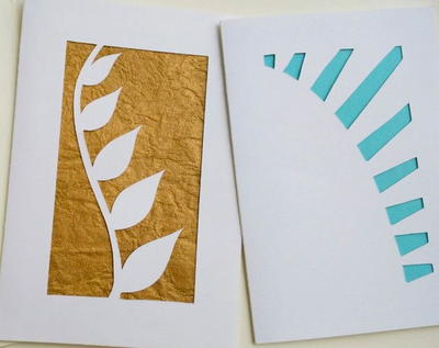 Cutting Art Handmade Greeting Cards