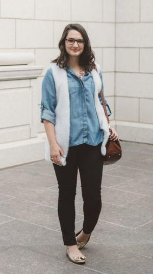 Tory Burch-Inspired Vest