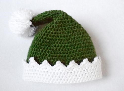 ca26a173c Little Helper Crochet Elf Hat | AllFreeCrochet.com