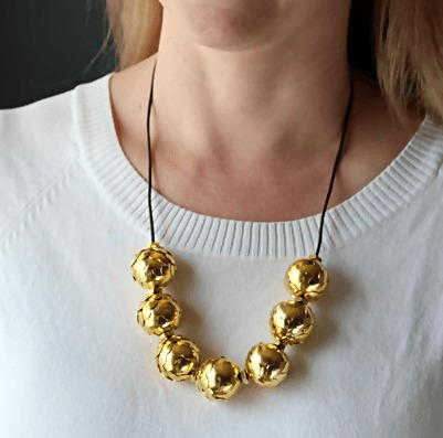 Brass Hardware DIY Necklace