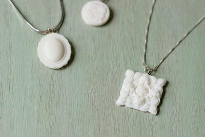 Milk Glass DIY Pendants