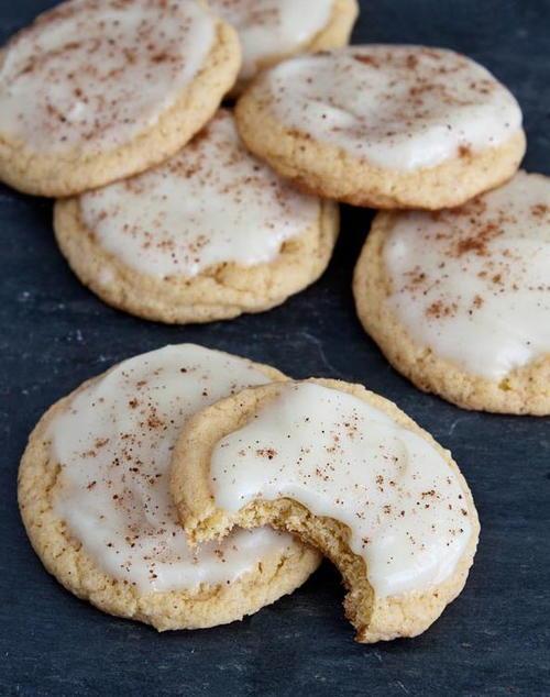 Eggnog Cake Mix Cookies
