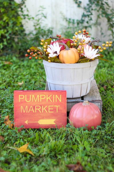 Beautiful Amish Market DIY Fall Decor