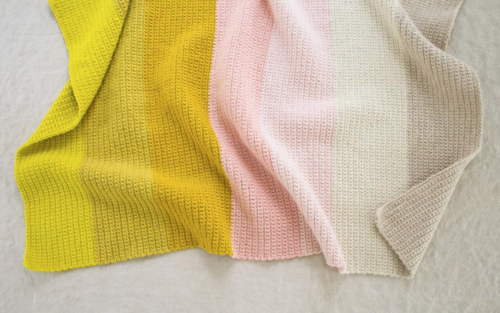 Salt Water Taffy Baby Blanket