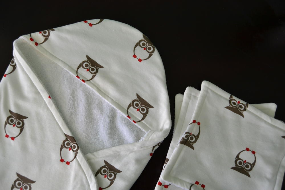 Hooded Baby Towel And Washcloth Set Allfreesewing Com