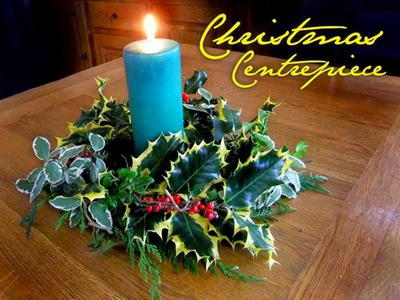 Elegant Christmas DIY Centerpiece