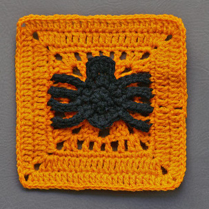 Spinning Spider Granny Square