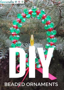 27 DIY Beaded Ornaments