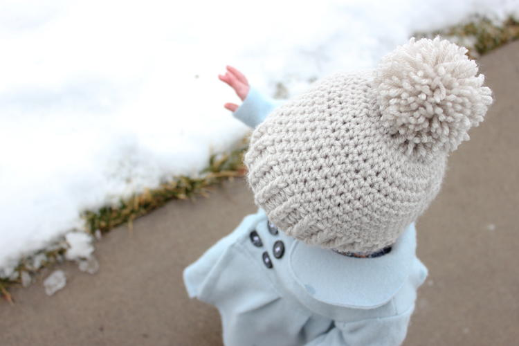 Snow Problem Crochet Baby Beanie Favecrafts Com