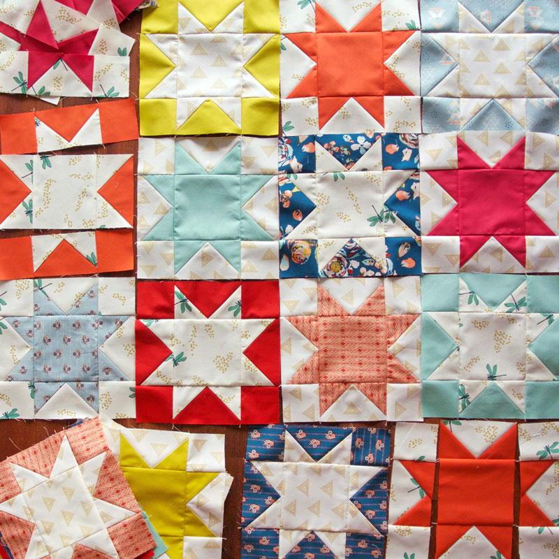 Reverse Sawtooth Star Block Pattern Favequilts Com
