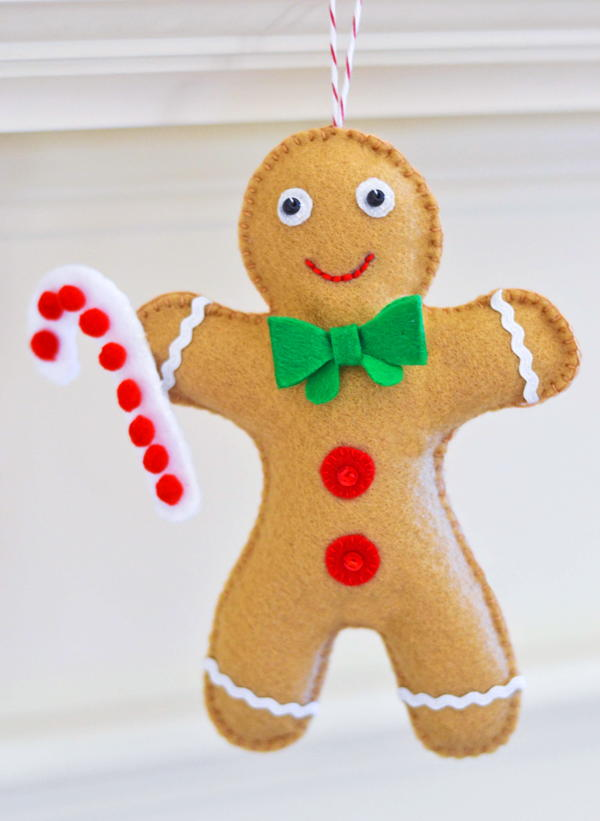 Gingerbread Man Ornament Pattern Favequilts Com