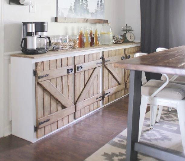 Upcycled DIY Sideboard