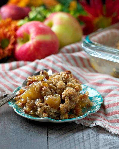 Easy Apple and Sweet Potato Casserole