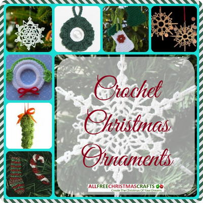 12 Crochet Christmas Ornaments