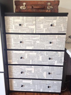 How to decoupage furniture - Decoupage mobili ...