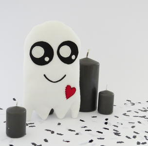 Friendly Ghost Toy Pattern