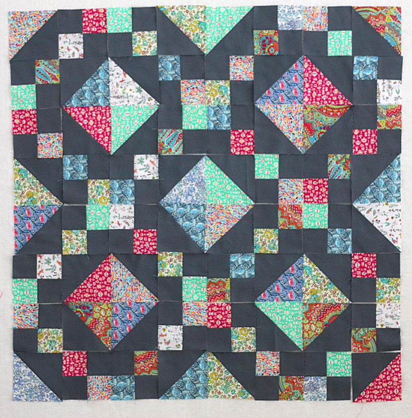 precious jewel box baby quilt