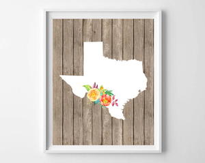 Pick Your State Printable Art