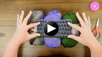 Around Town Crochet Ruana Crochet Along