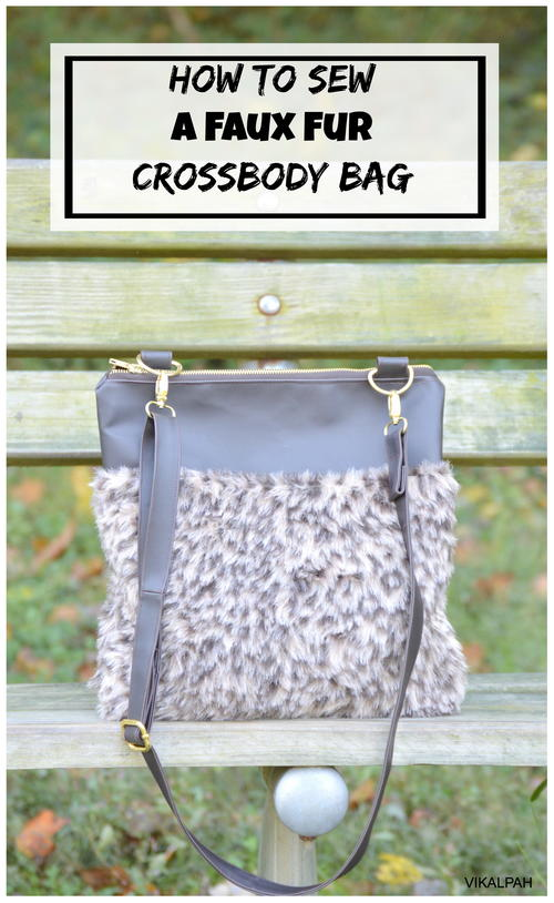 DIY Faux Fur Crossbody Bag