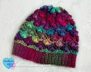 Shell N Picots Slouch Hat