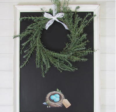 Country Cottage Lavender Wreath