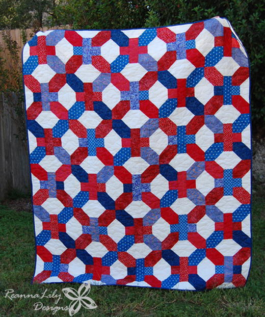 Huge X and Plus Quilt Tutorial