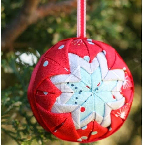 Holiday Folded Star Ornament AllFreeChristmasCrafts