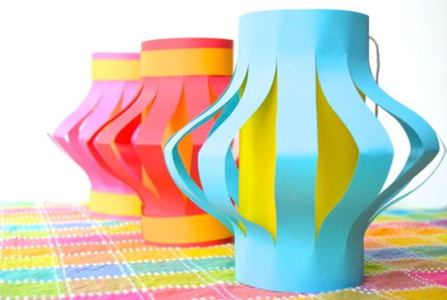 Pretty Paper Lanterns Craft