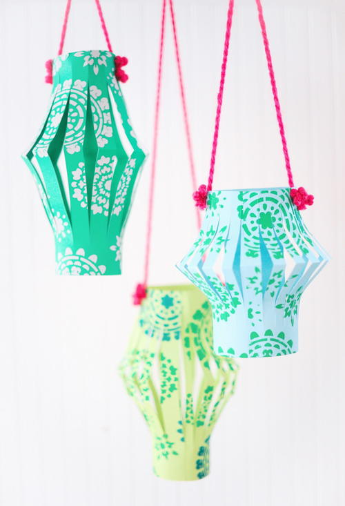Quick and Easy Chinese Paper Lanterns Craft