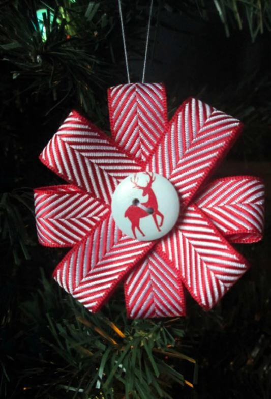 Christmas Ribbon Ornament Tutorial Allfreesewing Com