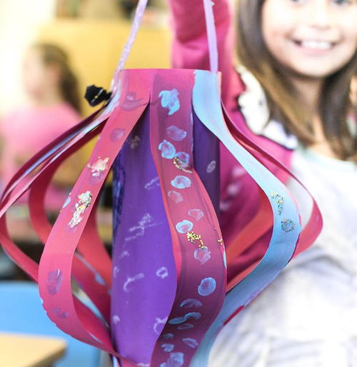 Curiously Creative Paper Lanterns Craft