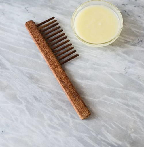 Homemade Coconut Oil Deep Conditioner