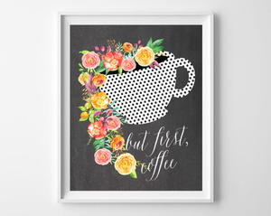 Brewtiful Coffee Printable Art