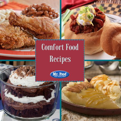 20 Comfort Food Recipes Mrfood