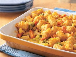 Cheesy Tater Tot Chicken Casserole Recipe