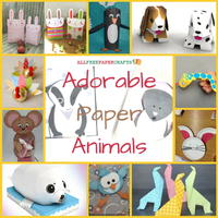 Adorable Paper Animals: 30 Animal Crafts