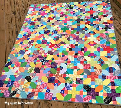 Scrappy X Plus Quilt Tutorial