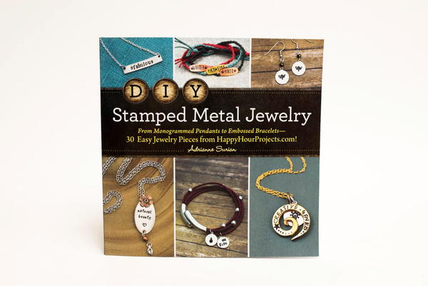 DIY Stamped Metal Jewelry Book Review