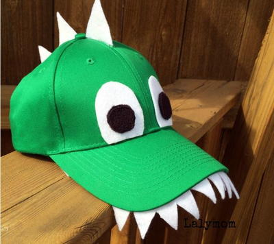 Dino Fashion DIY Hat