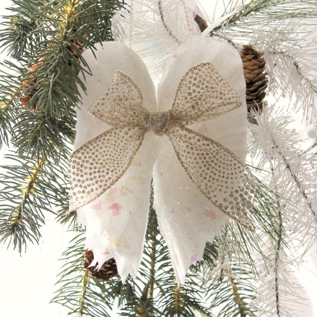 Beautiful Sparkling Diy Angel Wings Ornament