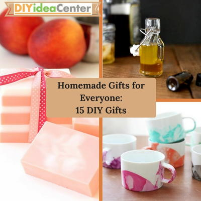 Homemade Gifts for Everyone 15 DIY Gifts