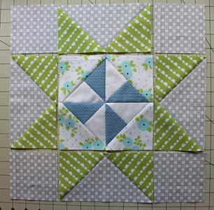 Danish Pinwheel Star Block Tutorial