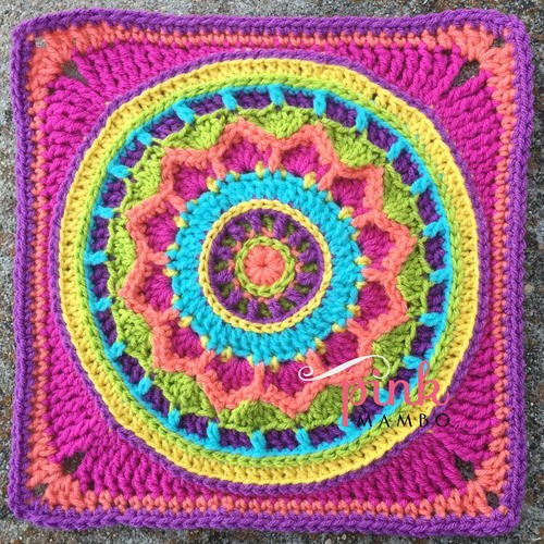 Dreamscape Crochet Square
