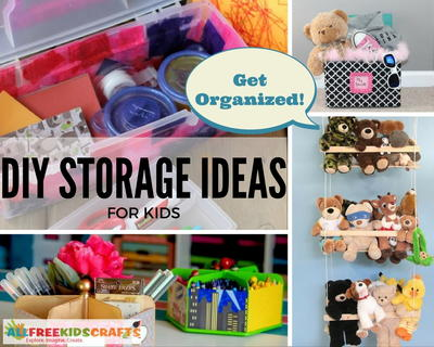 DIY Storage Ideas for Kids