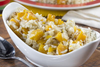 Slow Cooker Butternut Squash Risotto