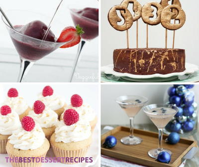 15 Desserts for a New Years Eve Party | TheBestDessertRecipes.com