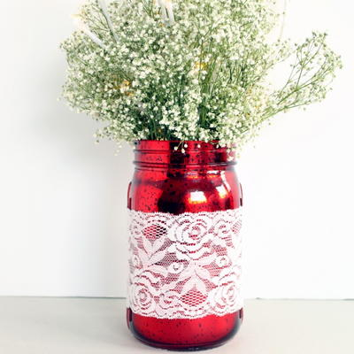 Marvelous Mason Jar Centerpiece